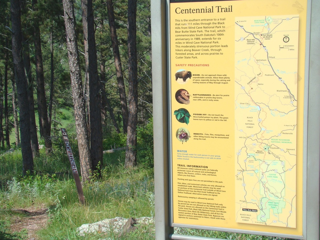 Centennial trail this is the southernmost trailhead on the centennial trail wind cave national park publicscrutiny Gallery